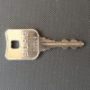 Keys cut from a photograph of a key
