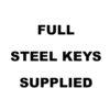 Full-Steel-Keys-Supplied